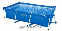 Бассейн каркасный Intex Rectangular Frame Pool 28272/533012